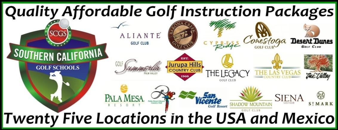 Southern California Golf Schools Steve Bean Golf Schools